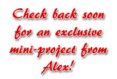 Check back soon- projects from Alex