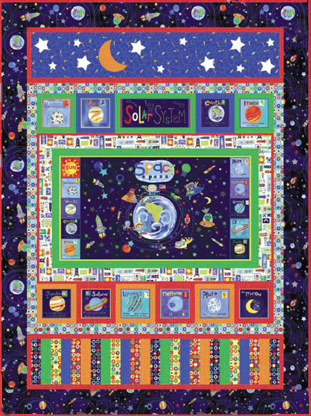 Among the stars quilt