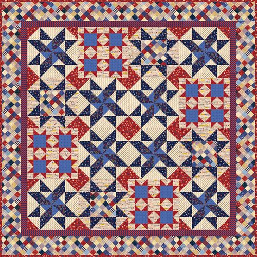Michele Bilyeu Creates *With Heart and Hands*: Free Patriotic ... : patriotic quilt kits - Adamdwight.com