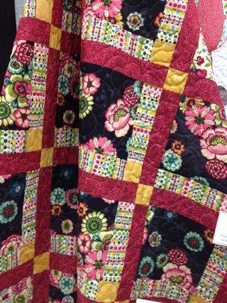 FDRO draped quilt